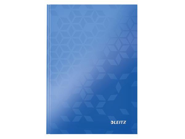 Notitieboek Leitz WOW A5 gelinieerd blauw