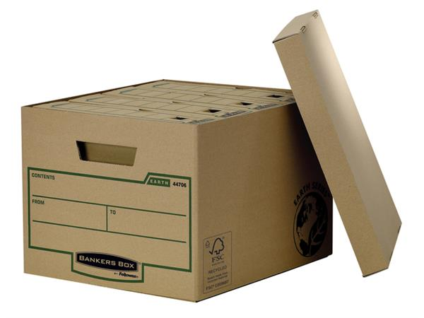 OPBERGDOOS BANKERS BOX EARTH 325X260X375MM