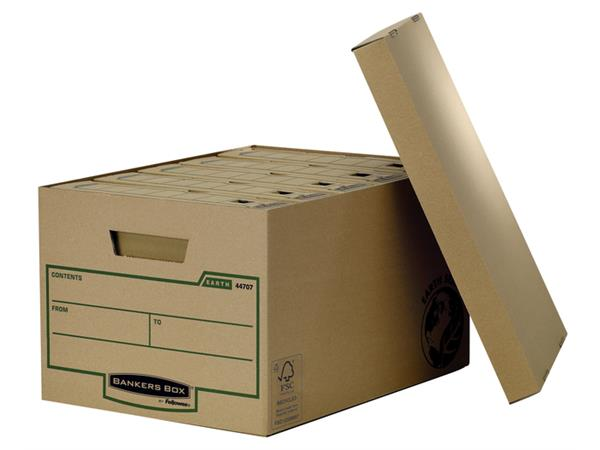 OPBERGDOOS BANKERS BOX EARTH 325X260X445MM