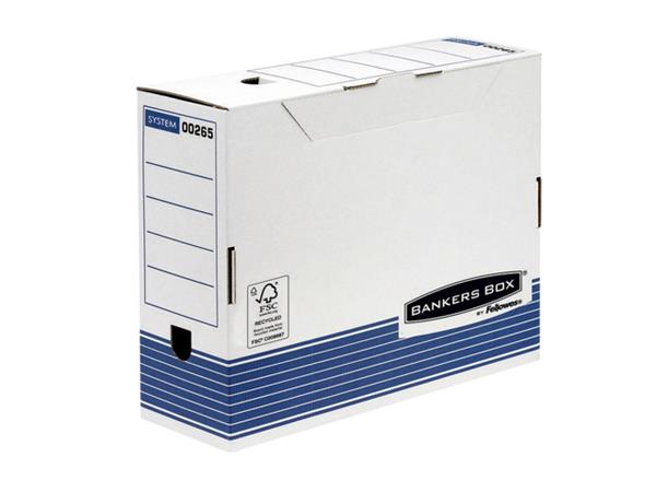 ARCHIEFDOOS BANKERS BOX SYSTEM A4 100MM TRANSFER