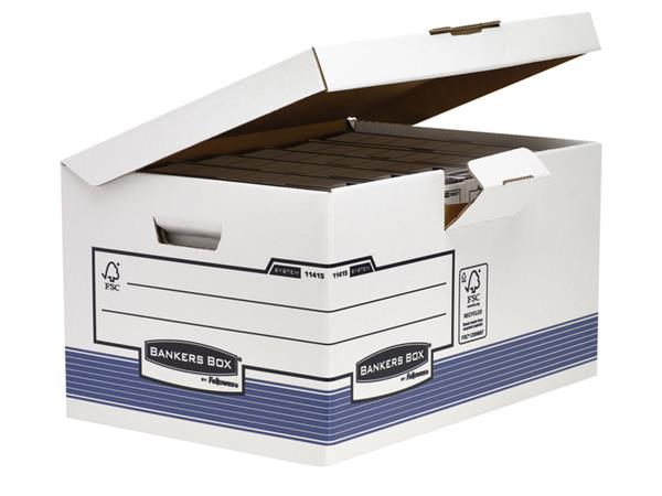 OPBERGDOOS BANKERS BOX SYSTEM FOLD FLIP TOP MAXI