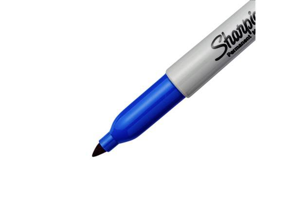 VILTSTIFT SHARPIE ROND 0.9MM ZWART EN BLAUW