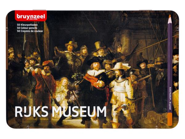 Kleurpotloden Bruynzeel Nachtwacht 5700 blik à 50 stuks