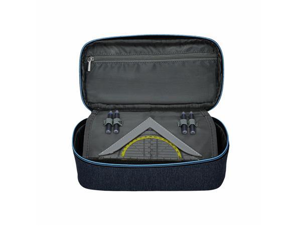 Etui bak Spirit donkergrijs/lichtblauw my bag 39