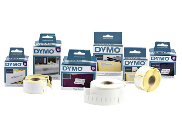 LABEL ETIKET DYMO 90498 104MMX159MM VERZEND WIT