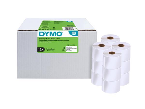 Etiket Dymo 13186 labelwriter 54x101mm 2640stuks