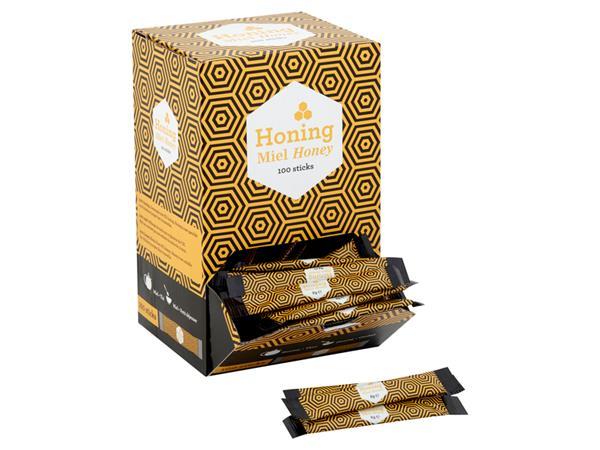 Honingsticks Van Oordt 8gram 100 stuks