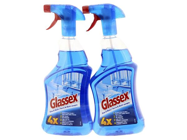 GLASREINIGER GLASSEX MULTISPRAY 2X750ML