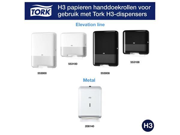 HANDDOEK TORK ADVANCED H3 Z-VOUW 23X25CM 3750ST 290163