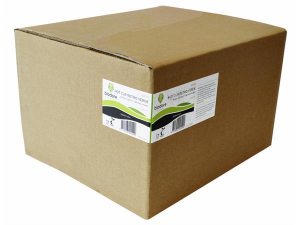 Beker karton Biodore bedrukt 200cc 20 stuks