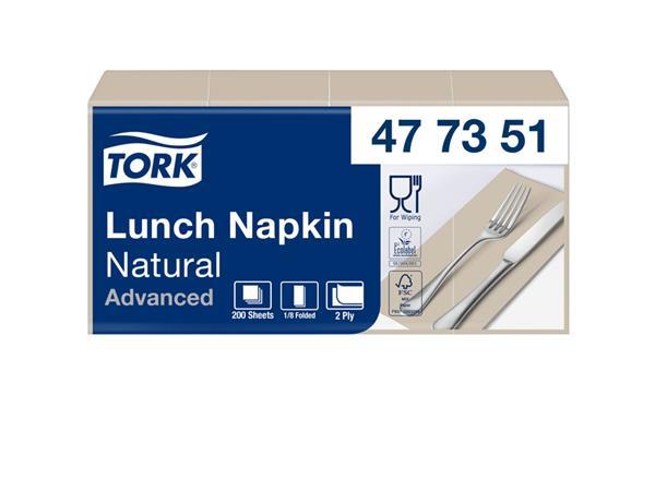 SERVET TORK 33X33CM 477351 NATURAL 200 STUKS