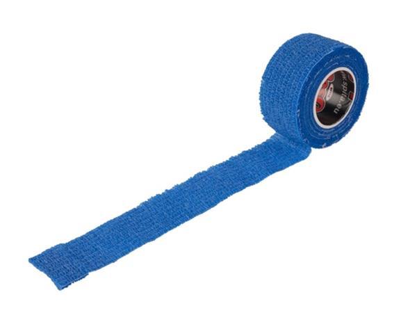 Vingerpleister zelfklevend gerold 25mmx4,5m blauw