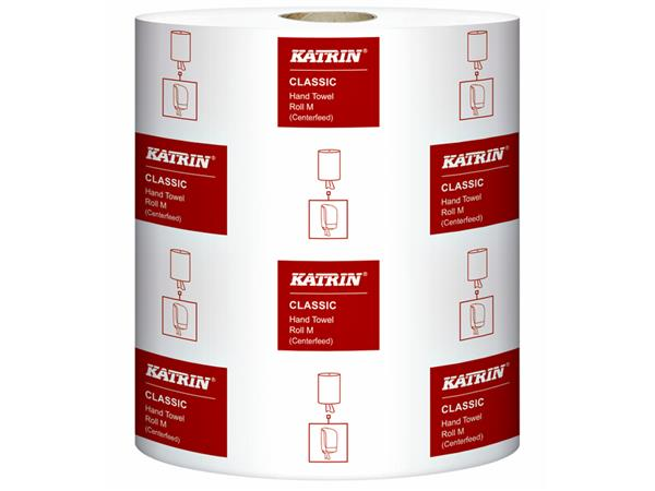 Handdoekrol Katrin Centerfeed M 485049 1laags 20,5cmx300m