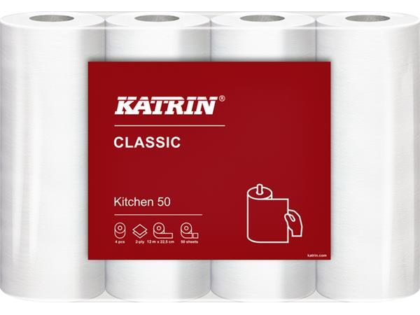 Keukenrol Katrin 47789 Classic pak à 4 rollen