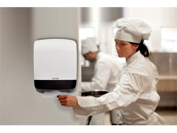 Dispenser Katrin 90182 vouwhanddoeken Mini wit