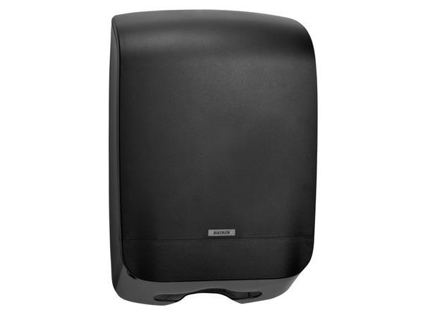 Dispenser Katrin 92063 vouwhanddoeken Maxi zwart