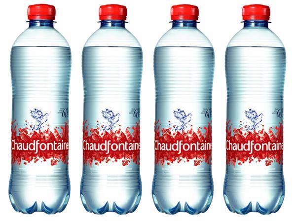 Water Chaudfontaine sparkling petfles 0.50l