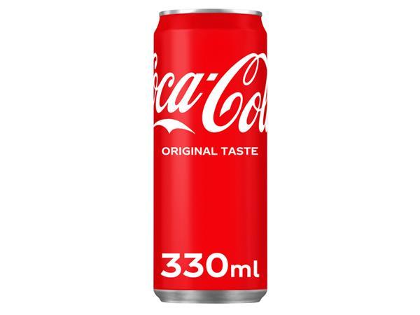 Frisdrank Coca Cola Regular blikje 0.33l