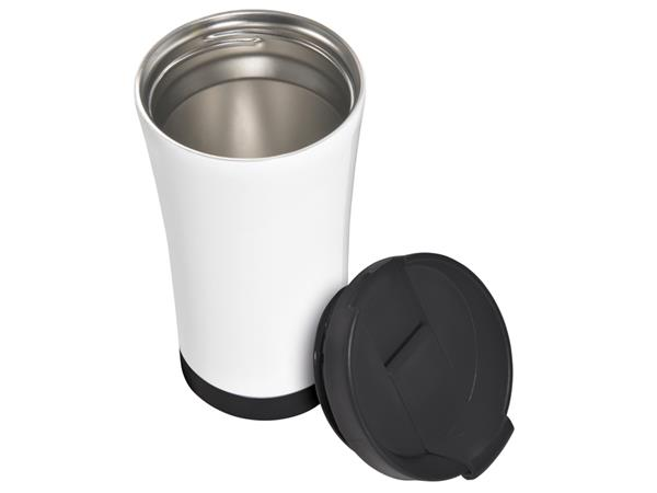 Koffiebeker thermo Leitz WOW zwart
