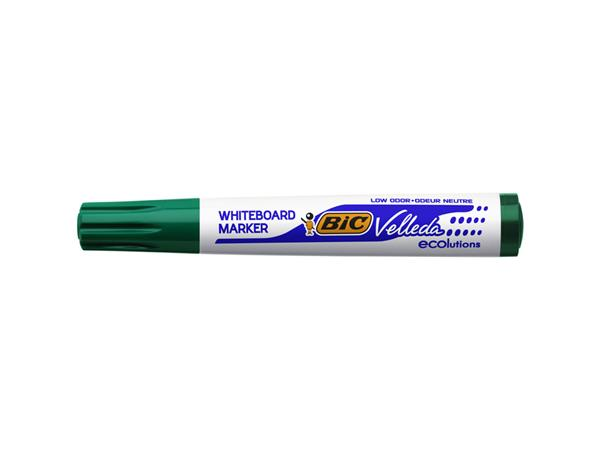 Viltstift Bic 1701 whiteboard rond groen 1.4mm