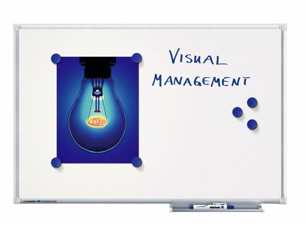 WHITEBOARD LEGAMASTER ECONOMY PLUS 90X120CM EMAIL