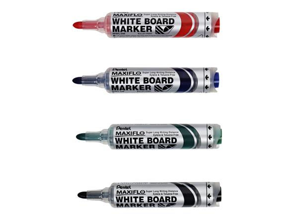 VILTSTIFT PENTEL MWL5M WHITEBOARD MAXIFLO 3MM ROOD