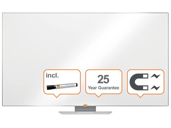 """Whiteboard Nobo Widescreen 70"""" / 155x87cm emaille"""
