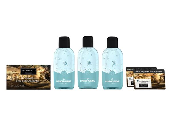 Giftset Treatments handgel en verzorgingsproduct