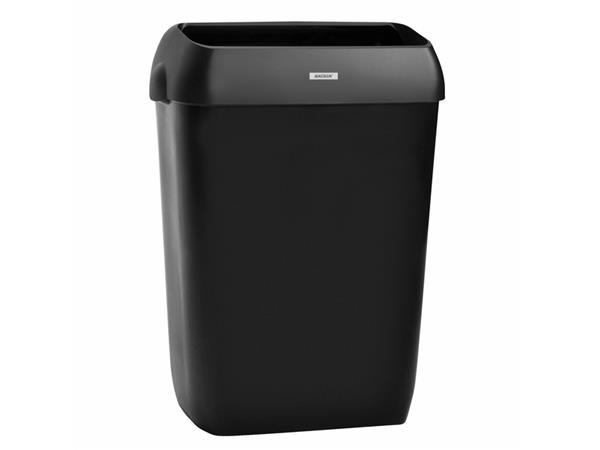 afvalbak katrin 92285 50liter zwart