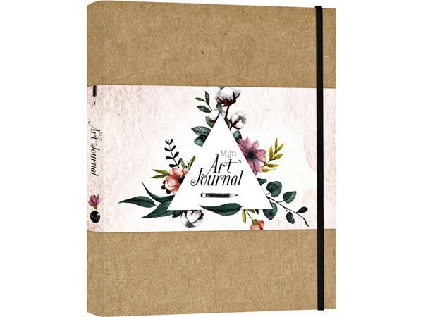 Art Journal A4 blanco bruin