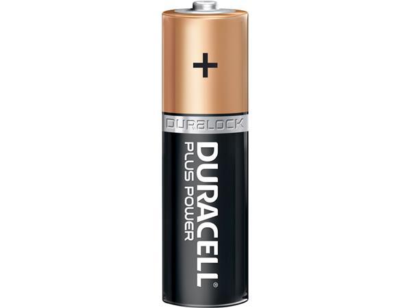 BATTERIJ+DURACELL+AA+PLUS+POWER+50%25+ALKALINE