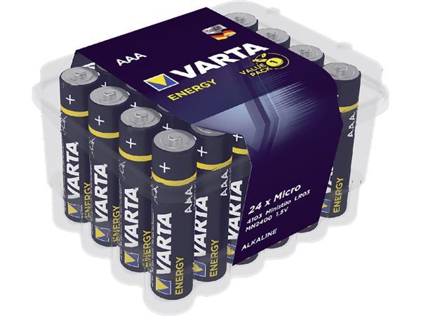 Batterij Varta energy 24xAAA voordeelbox