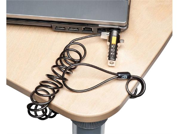 BEVEILIGINGSSET KENSINGTON PORTABLE LAPTOP LOCK