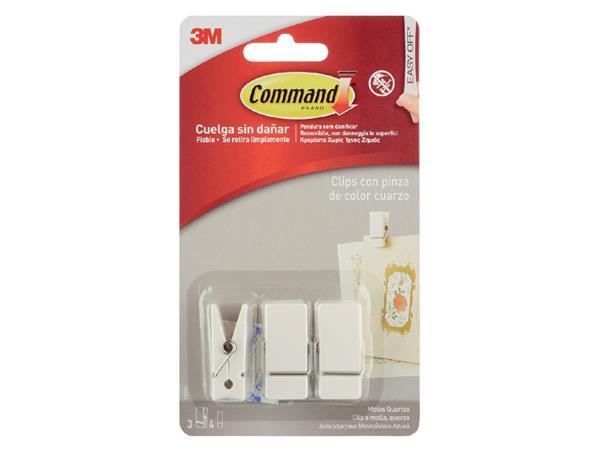 3m command deko-klammer formaat s wit