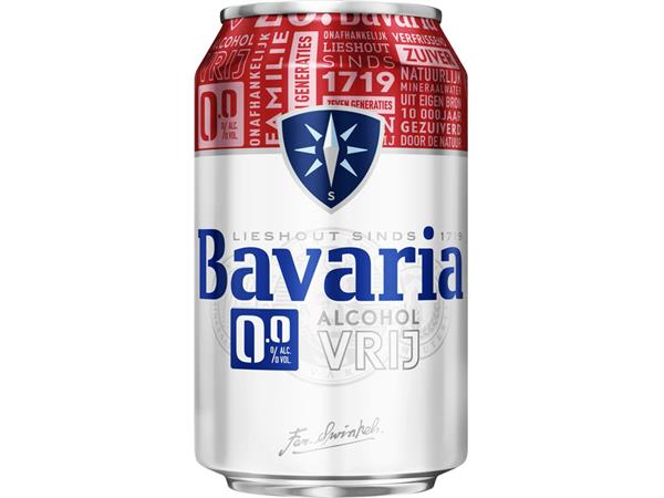 bier bavaria 0 0 blikje 0 33l