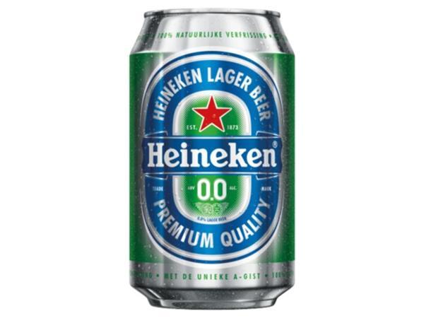 bier heineken 0 0 blikje 0 33l