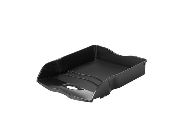 Brievenbak Han Re-LOOP A4 stapel- & nestbaar zwart