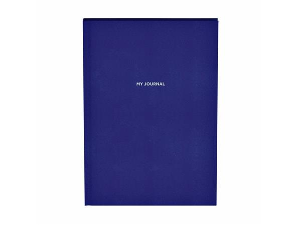 Bullet Journal Quattro Colori sparkle A5 dotted mat blauw