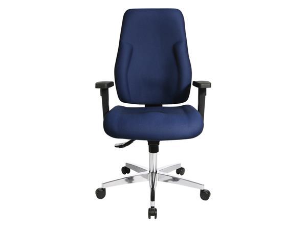 Bureaustoel+Topstar+Point+91+donker+blauw