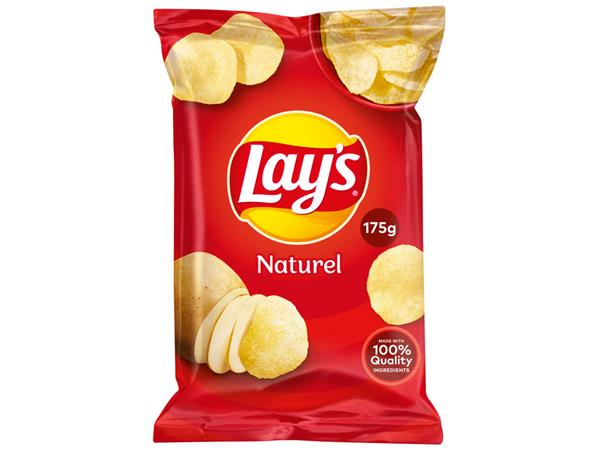 Chips Lay's Naturel 175gr