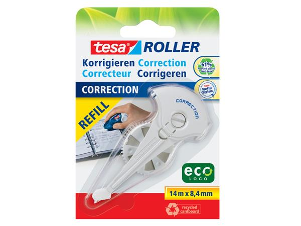 Correctierollervulling Tesa 8.4mmx14m eco op blister