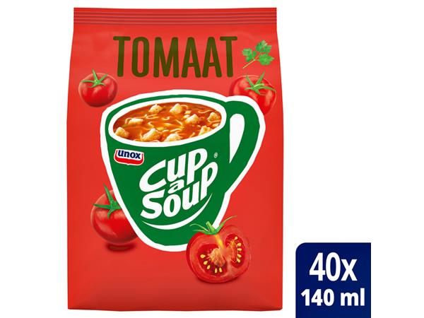CUP A SOUP TBV DISPENSER TOMAAT 40 PORTIES