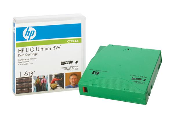DATATAPE HP LTO ULTRIUM 4 C7974A RW 1.6TB