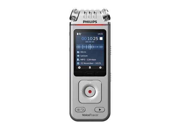 DIGITAL VOICE RECORDER PHILIPS DVT4110 VOOR LEZINGEN
