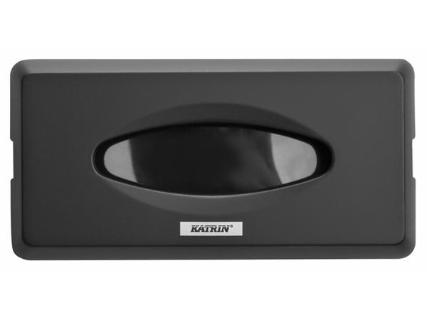 dispenser katrin 104476 facial tissues zwart