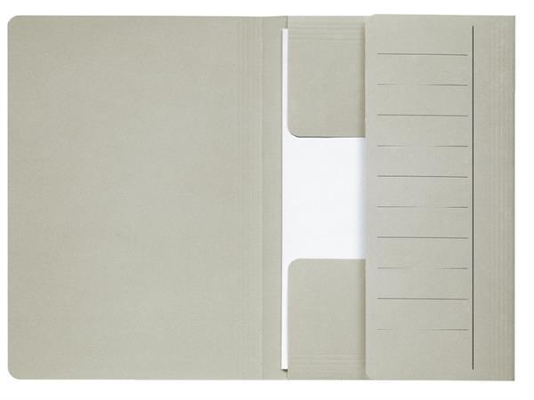 Dossiermap Jalema Mammoet folio 3 kleppen 270gr grijs