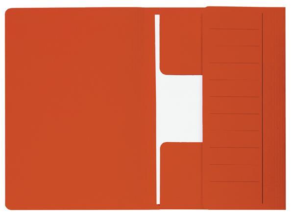 Dossiermap Jalema Mammoet folio 3 kleppen 270gr rood