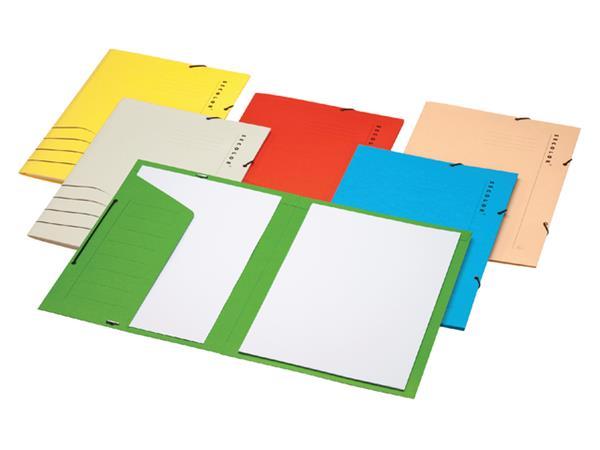 Elastomap++Secolor+folio+1+klep+270gr+rood