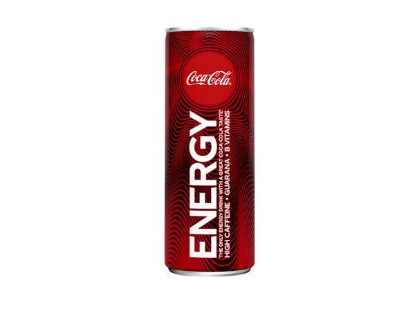 FRISDRANK+COCA+COLA+ENERGY+BLIK+0.25L
