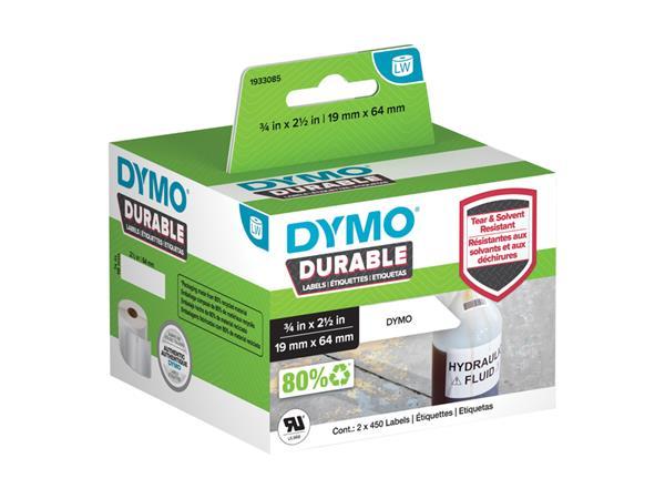 Etiket Dymo 1933085 labelwriter 19x64mm 900 stuks